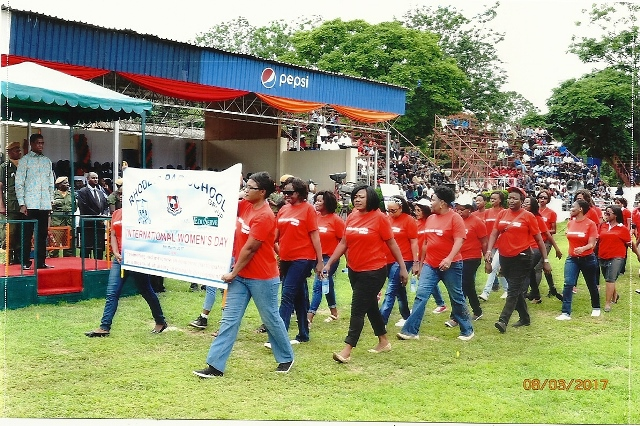 RPS-Group-ladies-march-past-ECL-2017-International-Womens-Day-Celebration